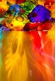 Teto de vidro colorido imagens de stock royalty free