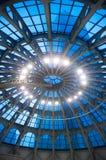 Teto de vidro da abóbada Fotos de Stock Royalty Free