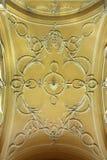 Teto decorado Fotografia de Stock Royalty Free