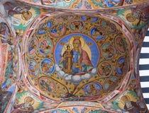 Teto do monastério de Rila em Bulgária Fotos de Stock