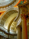 Teto do museu militar Paris Fotos de Stock Royalty Free