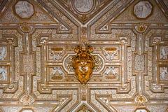 Teto dourado da basílica de St Peter imagens de stock royalty free