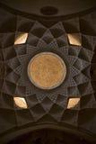 Teto em isfahan esfahan Irã fotografia de stock