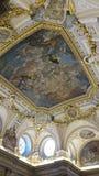 Teto em Royal Palace do Madri Fotos de Stock