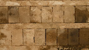 Teto feito dos blocos de cimento Fotografia de Stock