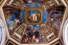 Teto Frescoed no Salão dos musas Imagem de Stock Royalty Free