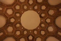 Teto interior do palácio das belas artes Fotos de Stock