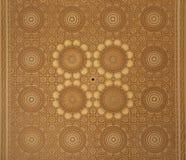 Teto marroquino do projeto do Arabesque Fotografia de Stock Royalty Free