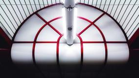 Teto na estação de metro em Munich Ostbahnhof foto de stock