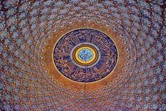 Teto na mesquita Fotos de Stock Royalty Free