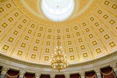 Teto no Capitólio Washington dos E.U. foto de stock