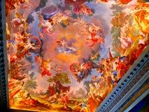 Teto pintado imagens de stock royalty free
