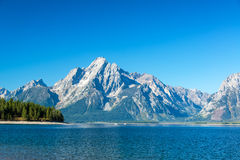 Teton范围视图 免版税库存图片
