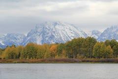 Teton山 免版税库存照片