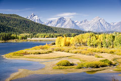 Teton Autumn Royalty Free Stock Photography