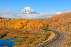 Teton Autumn Beauty Arkivbild