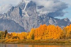 Teton Autumn Landscape Royalty Free Stock Image