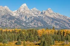 Teton Autumn Landscape Stock Photos