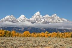Teton Autumn Scenic Stock Photography