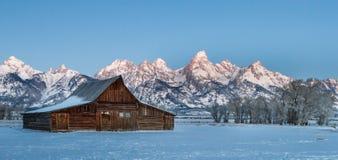 Teton barn Royalty Free Stock Images