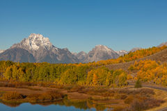 Teton Beauty in Fall Royalty Free Stock Images