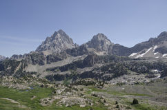 Teton Crest Stock Photo