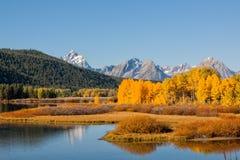 Teton Fall Landscape Stock Photos