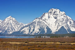 Teton grand Photographie stock libre de droits