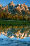 Teton grand photographie stock libre de droits