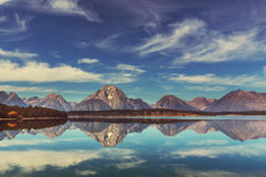 Teton grand Image stock