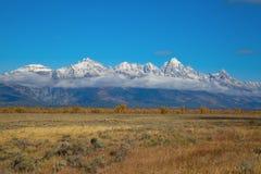 Teton grand Photographie stock