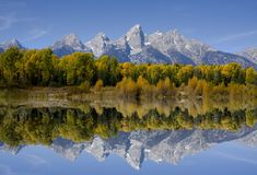 teton grand de stationnement national photographie stock libre de droits