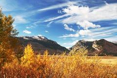 Teton grand, NP Photos libres de droits