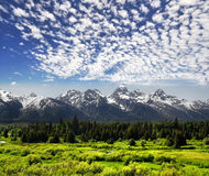 Teton grande Imagem de Stock Royalty Free