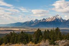 Teton Landscape Royalty Free Stock Photos