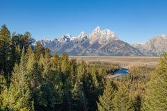 Teton Landscape Stock Image