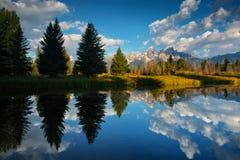 Teton magnífico Foto de archivo libre de regalías