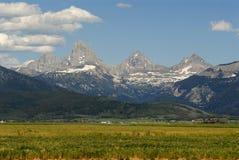 Teton magnífico de Idaho Foto de archivo libre de regalías