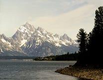 Teton magnífico, Wyoming Fotos de archivo libres de regalías