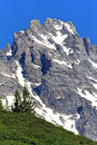 Teton Mountain Royalty Free Stock Photo