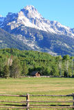 Teton Mountain Royalty Free Stock Photos