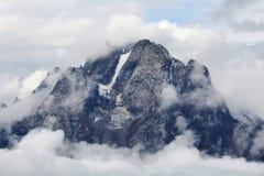 Teton National Park Mountains. Heavenly mountain in the Teton National Park Royalty Free Stock Photography
