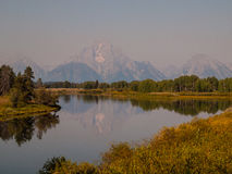 Teton NP Lizenzfreies Stockfoto