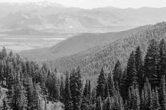 Teton pass royalty free stock photos