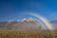 Teton Rainbow Royalty Free Stock Photo