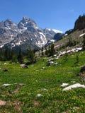 Teton Range Stock Image