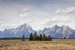 The Teton Range Stock Photography