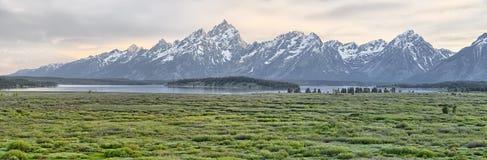The Teton Range Stock Photo