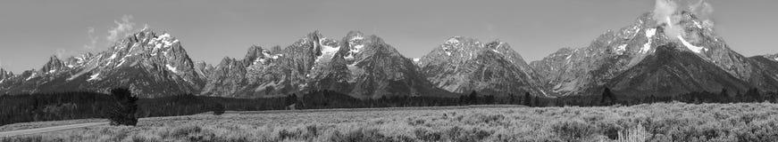 Teton's giant panorama Royalty Free Stock Photos