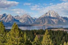 Teton Scenic Landscape Royalty Free Stock Images